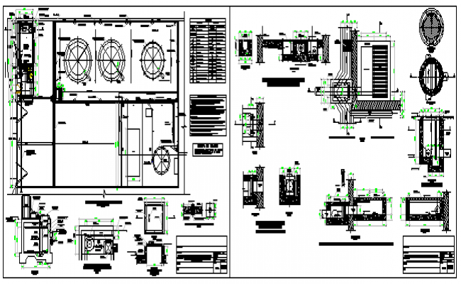 Peroxide dilution facility elevated tank design drawing