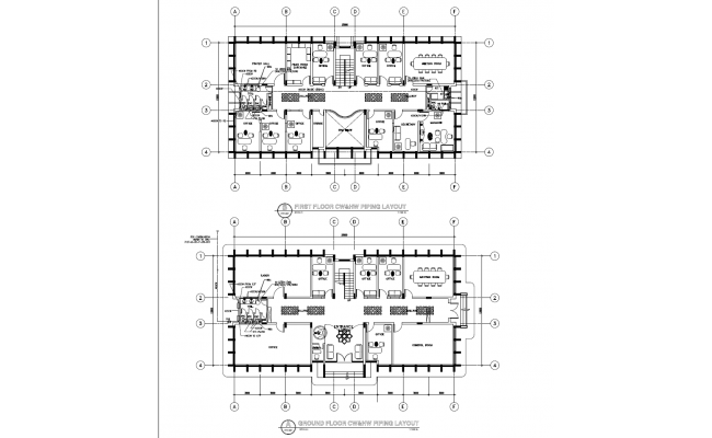 Piping Layout plan detail