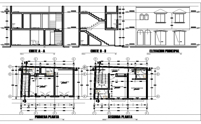 Commercial Plan In DWG File
