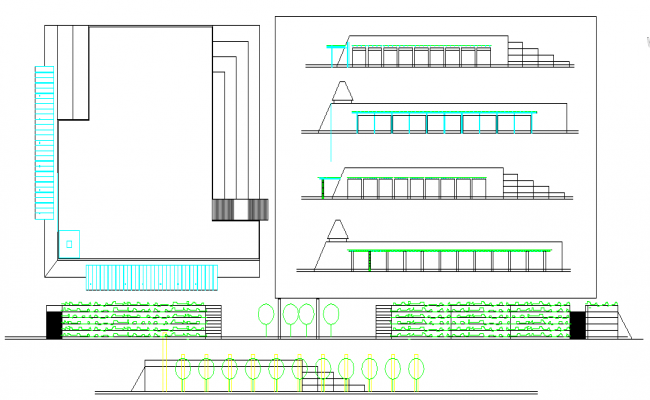 Plan Lay-out & Elevation Detail