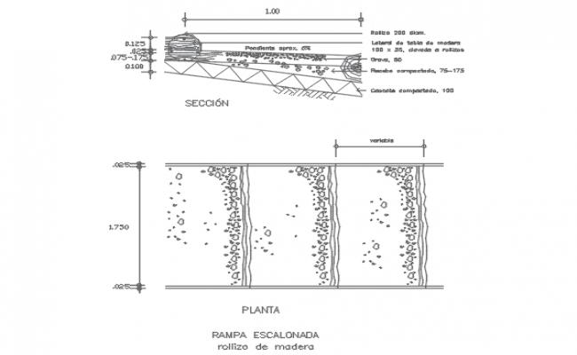 Ramp Design AutoCAD File