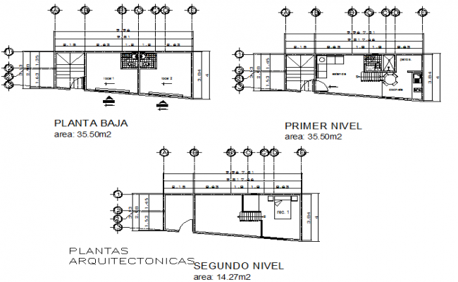 Plan architect detail dwg file
