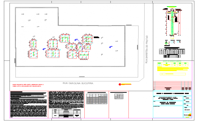Plan detail and structure view detail dwg file
