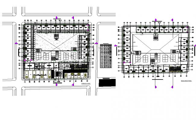 Plan market architecture layout file