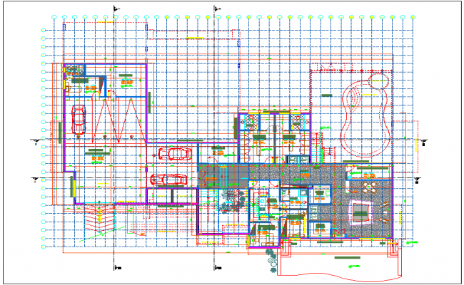 Plan of home with distribution view of area