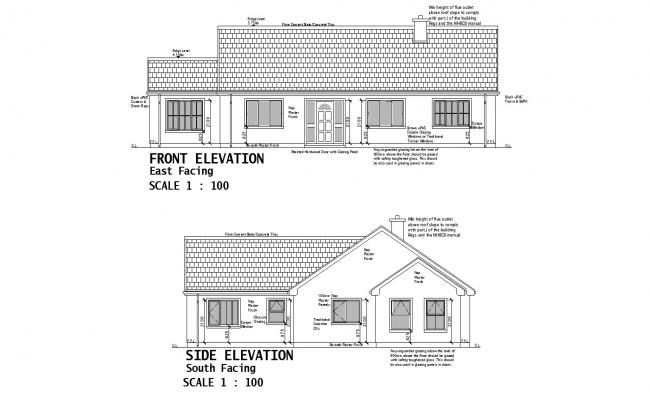 Small Rental House Plans In AutoCAD File