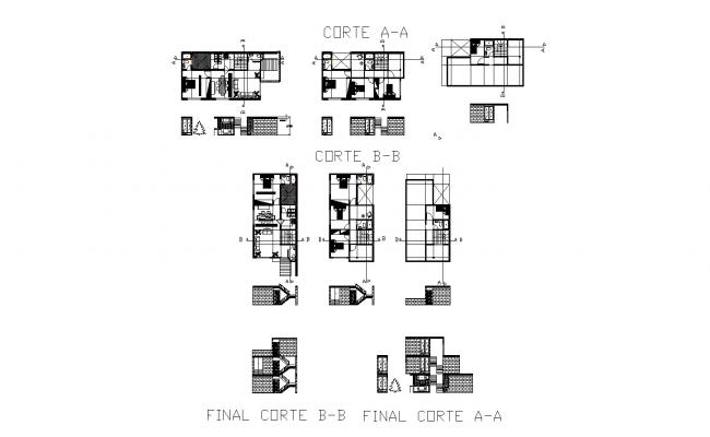 Download Free Residential House Plan In AutoCAD File
