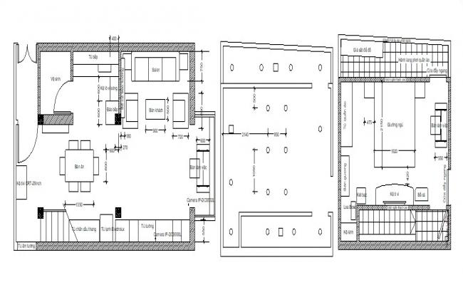 Simple house plans in AutoCAD file