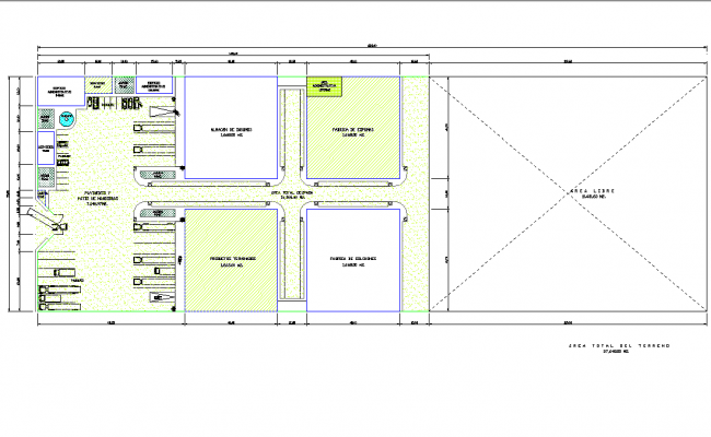 Plan storage detail dwg file