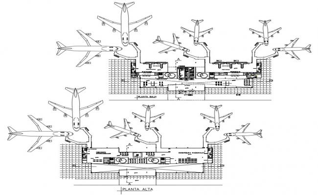 Planning and Design of Airports CAD File