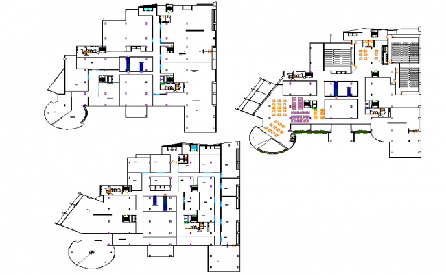 Planning commercial layout file