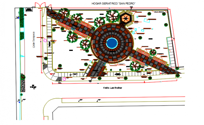 Planning detail dwg file