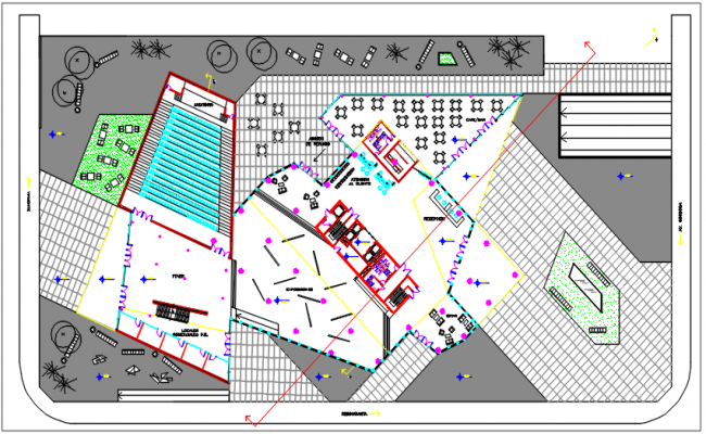 Planning detail dwg file