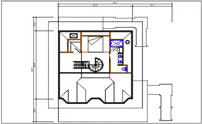 Planning details of dwg file