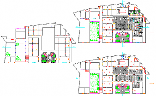 Planning home autocad file