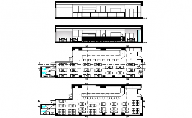 Planning project detail dwg file