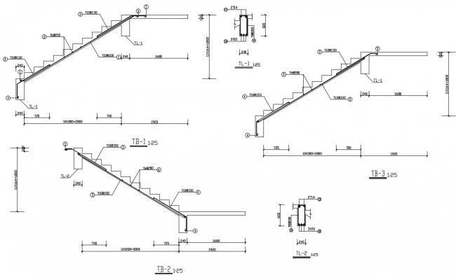staircase design plan