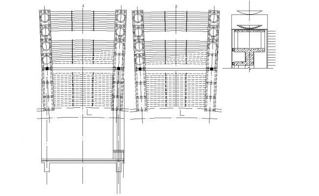 Planter Box  Design AutoCAD File Free