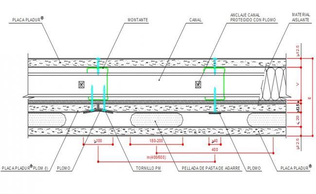 Plaster plates-pladur-blockradilogicalprotection-sectin-5files