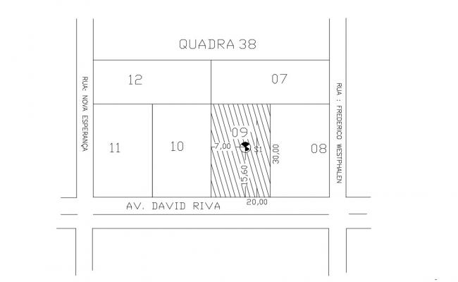Plot Area CAD Plan