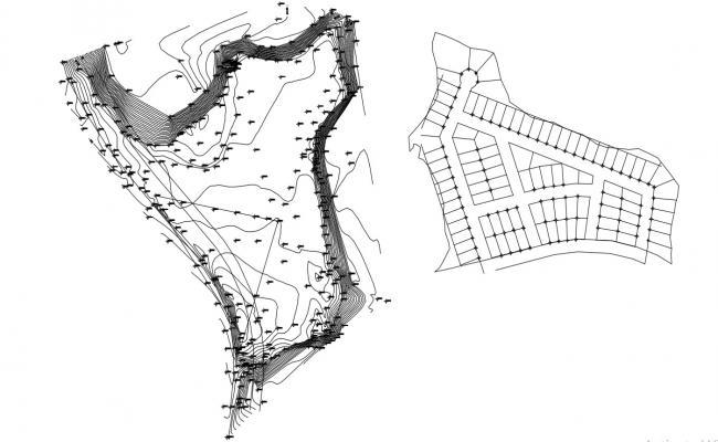 Plot Layout Design With Plotting AutoCAD file free