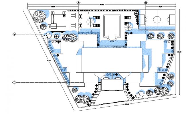 Plot home plan layout file
