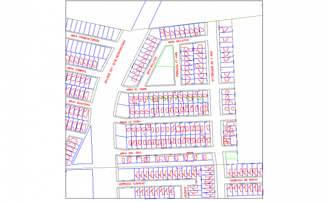 Plot layout plan layout file