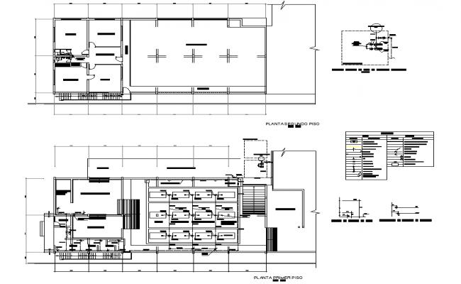 Plumbing fridge fishing plan detail dwg file