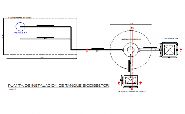 Plumbing motor 3 D elevation detail dwg file