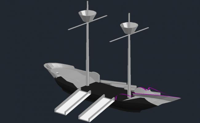 Pontoon CAD File Download