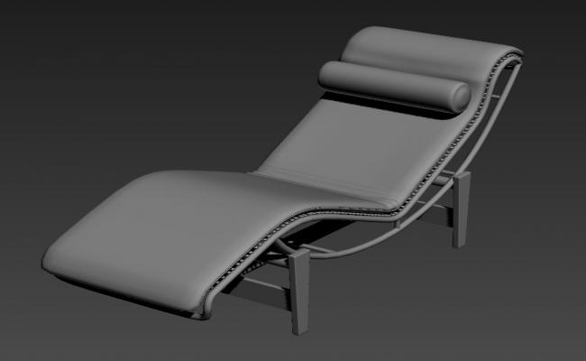Pool Side Relaxing Chair 3ds Max File Free Download