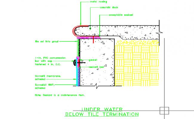 Pool detailing