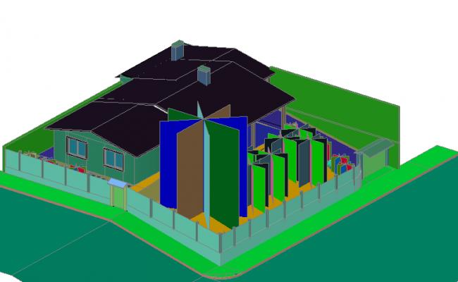 Posh bungalow elevation design