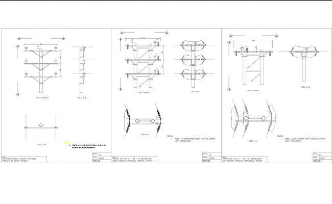 Power Distribution & Control Assemblies line detail and design in autocad dwg files