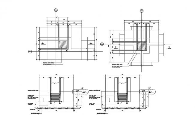 Precast Column Design DWG File
