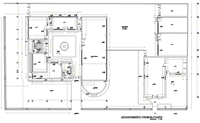 Primary plan detail dwg file