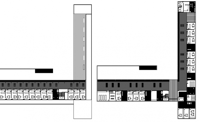 Project of Health Center New Plant Elevation, Structure Details dwg file