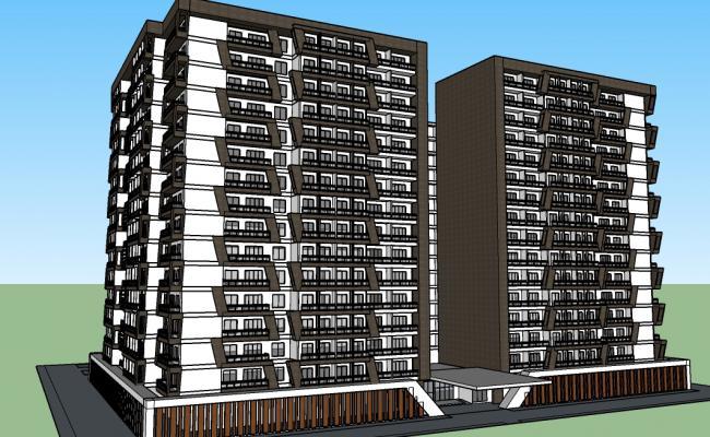 Proposed Condominium Building