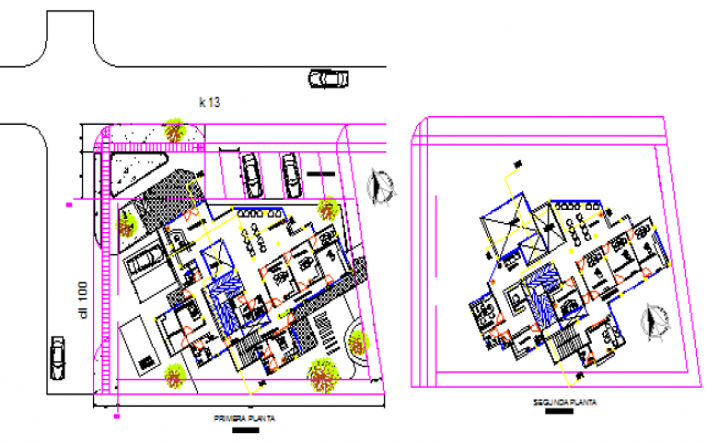 Proposed layout of ophthalmologist prevention center design drawing