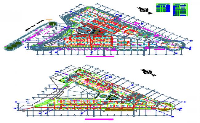 Provincial Municipality market design drawing