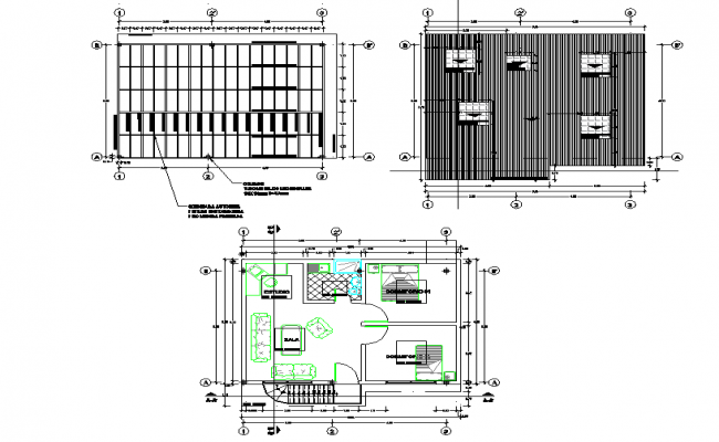 Provisional ampliacion house plan layout file