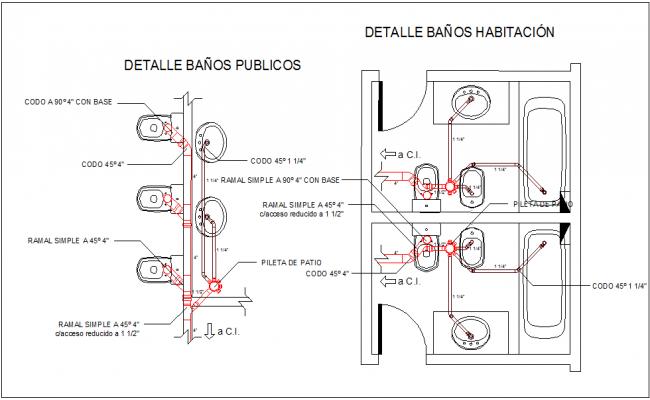Public toilet design layout images for Washroom plan