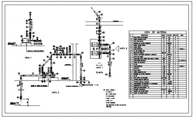 Pump detail design drawing