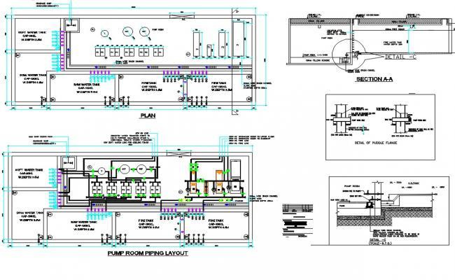 Pumping CAD Drawing