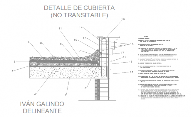 R.C.C Slab design in DWG file.