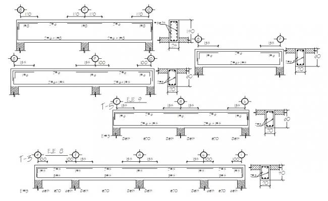 RCC construction details drawings dwg file