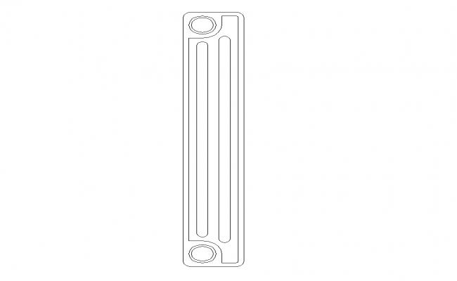 Radiator Machine block AutoCAD file