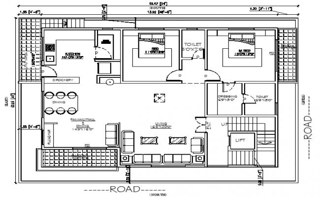 Raw house Plan