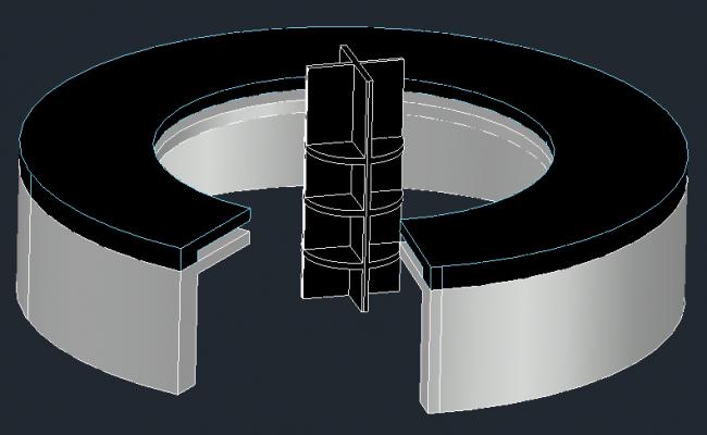 Reception Table-Circulargeometric
