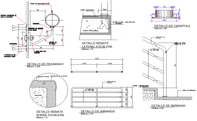 Reeling detail dwg file